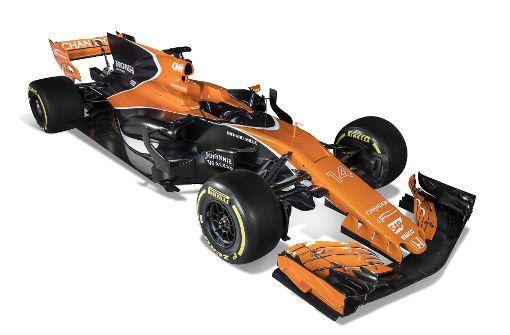 Alonso und McLaren präsentieren neuen Boliden
