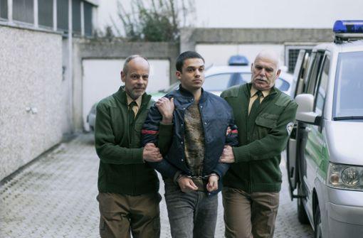 Der persischstämmige Farim Koban (Jasper Engelhardt, Mi.) ist der Auffällige .... Foto: BR