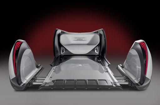"""Die gesamte Technik ist im Chassis untergebracht. Bei Daimler nennt man es """"Skateboard"""". Foto: Daimler"""