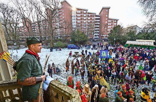 Robin Hood  hat das Rathaus verlassen