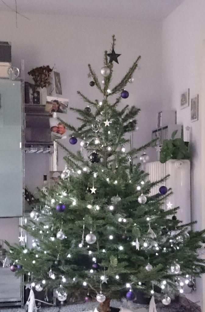 mein weihnachtsbaum ist der sch nste baum weil drei generationen ihn geschm ckt haben nachdem. Black Bedroom Furniture Sets. Home Design Ideas