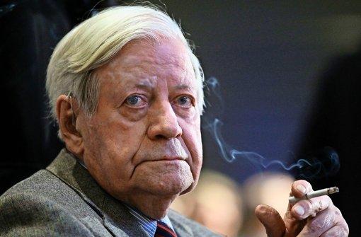 Altkanzler muss auf Zigaretten verzichten