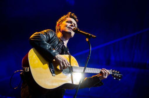 Michael Patrick Kelly bei seinem Konzert auf dem Killesberg Foto: Lichtgut/Christoph Schmidt