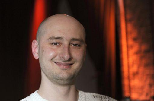 Arkadi Babtschenko ist tot. Foto: dpa