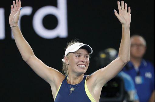 Wozniacki gewinnt und wird neue Nummer eins