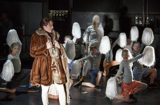 Als Zehnjährige auf der Opernbühne