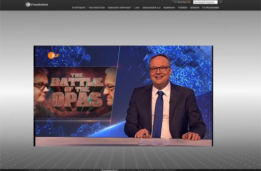 The Battle of the Opas in der heute Show