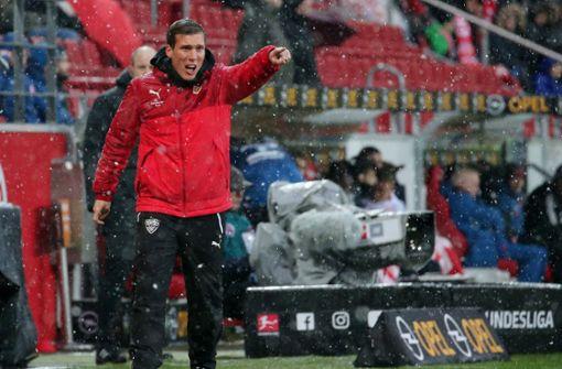 Trainer Hannes Wolf muss sich entwickeln dürfen
