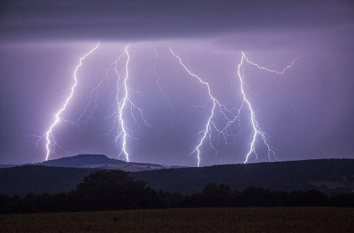 Erneut schwere Gewitter erwartet