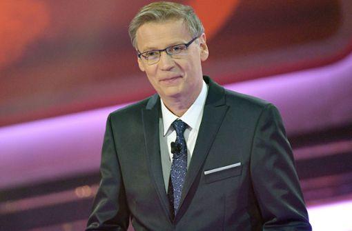 Ist in einem Rechtsstreit unterlegen: der TV-Moderator Günther Jauch. Foto: dpa