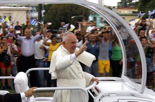 Franziskus bei den Castros
