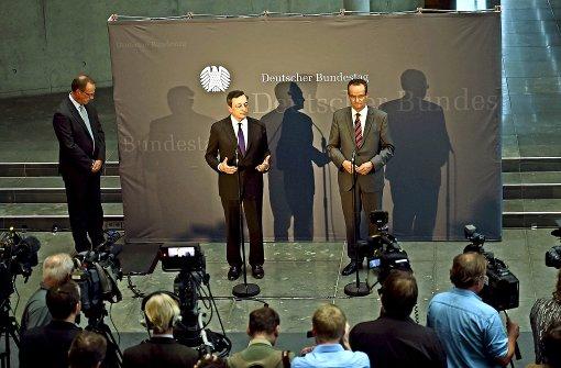 Berliner Spießrutenlauf für Draghi bleibt aus