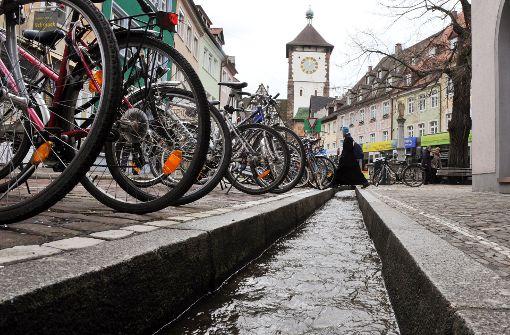 Vorbild Freiburg: Im Geberviertel soll der Nesenbach fließen. Foto: dpa