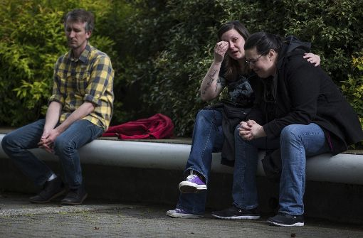 Fans des Soundgarden-Sänger in Trauer Foto: AP