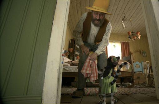 Pettersson (Stefan Kurt) und sein Kater Findus leben vergnügt zusammen.  Foto: Wild Bunch