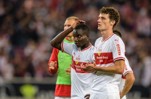Zweite Niederlage in dieser Saison – und noch keinen Treffer für den VfB Stuttgart. Foto: dpa