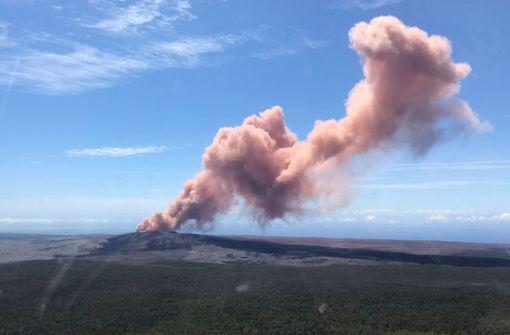 Vulkan Kilauea ausgebrochen – 10.000 Menschen sollen Häuser verlassen
