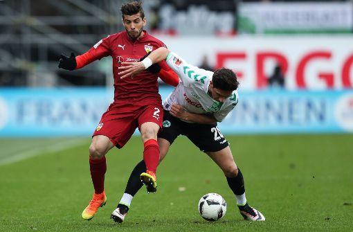Der VfB Stuttgart muss sich gegen Fürth geschlagen geben. Wir haben die Noten für die Roten. Foto: dpa
