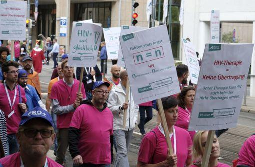 Deutsche AIDS-Hilfe kämpft gegen Diskriminierung