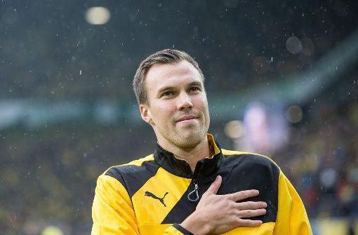 Großkreutz feiert BVB-Pokaleinzug in der Allianz Arena