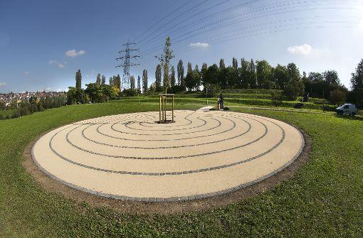 Im Labyrinth muss jeder seinen  Rhythmus finden