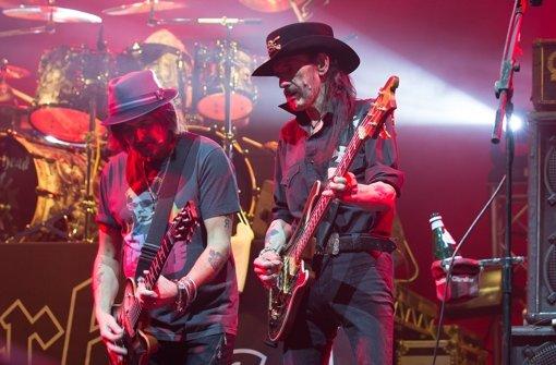 Motörhead spielten am Mittwochabend in der MHP Arena in Ludwigsburg. Foto: Buehnengraben.de / Martin Olbrich