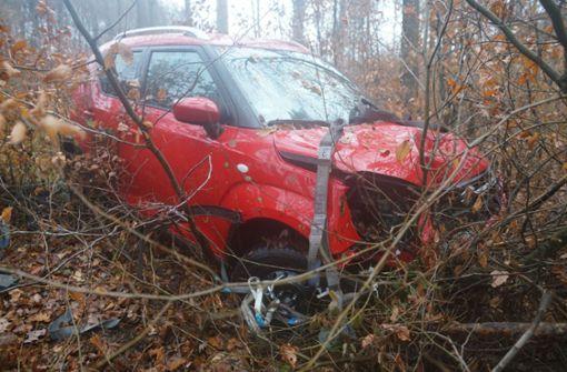 Das Auto war nagelneu gewesen.  Foto: SDMG