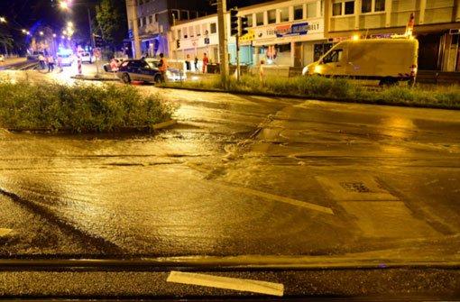Hohenheimer Straße bremst Autos aus