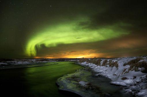 Polarlichter erleuchten die Nächte
