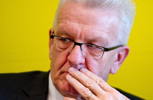 """""""Schockierende Berichte"""" – Ministerpräsident Winfried  Kretschmann will traumatisierten Frauen helfen Foto: dpa"""