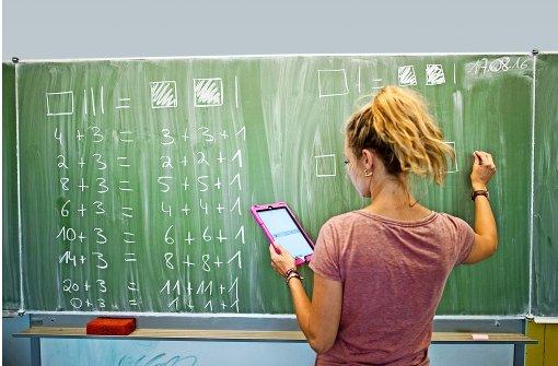 Der Einsatz von Computern und Lernsoftware  soll im Unterricht alltäglich werden. Foto: dpa