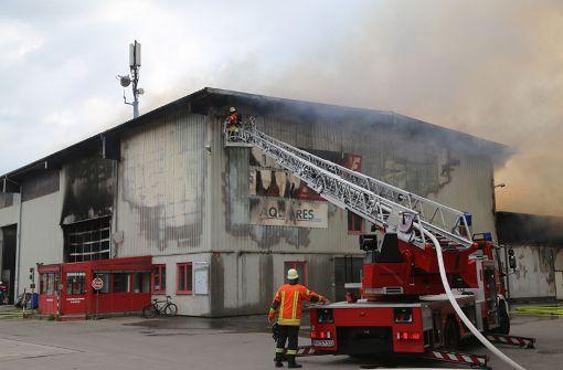 Hoher Sachschaden nach Großbrand auf Recyclinghof