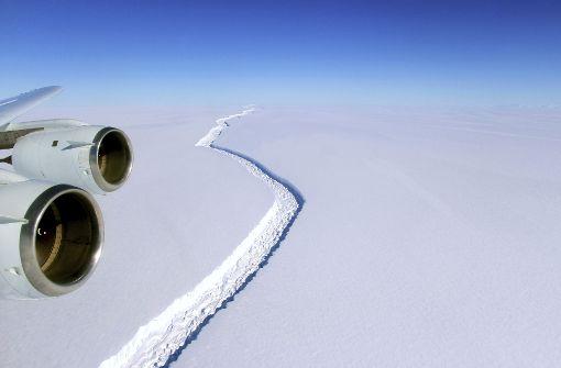 Eisberg doppelt so groß wie das Saarland