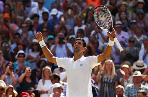 Novak Djokovic kürt Comeback mit Gesamtsieg