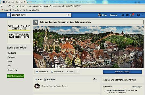 Esslingen aktuell – unser  neuer Facebook-Auftritt für den Landkreis