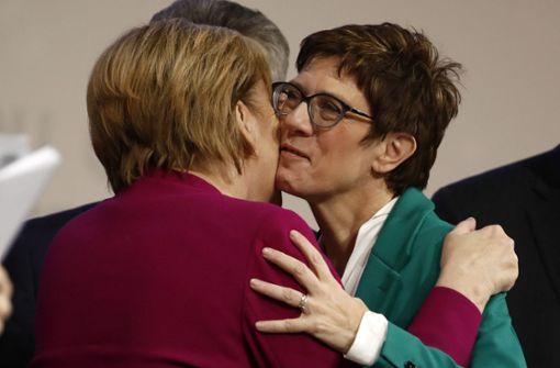CDU berichtet von Austritten nach Wahl von Kramp-Karrenbauer