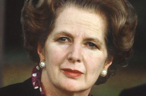 Margaret Thatcher ist tot
