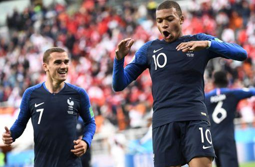 Kylian Mbappé schießt Frankreich ins Achtelfinale