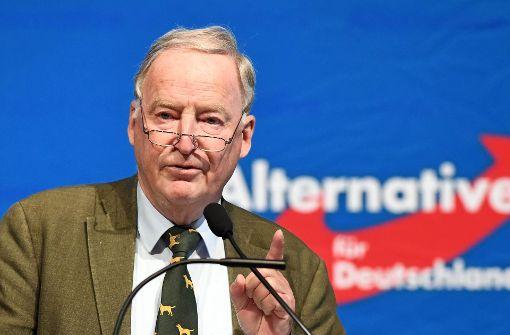 Gauland rügt Doppelmandat von AfD-Politiker Pretzell