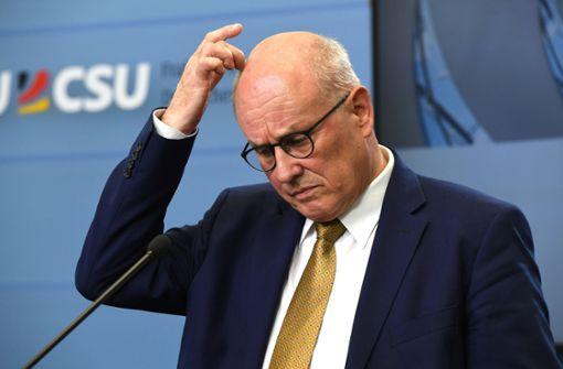 """""""Kein guter Tag für die CDU-Landesgruppe"""""""