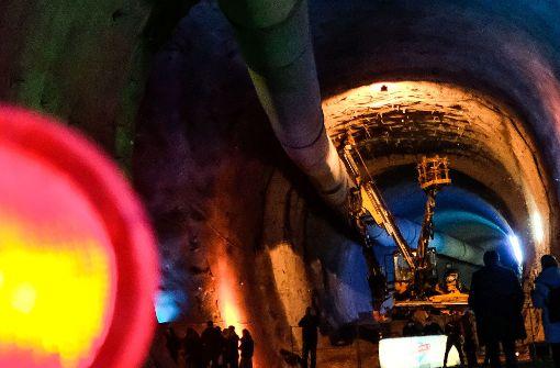 Beim Großprojekt Stuttgart 21 ist noch kein Licht am Ende des Tunnels erkennbar. Die Kosten und der Zeitbedarf für den Bau steigen erneut. Foto: Lichtgut/Leif Piechowski