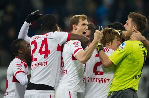 Das Team von Bruno Labbadia gewinnt nach fünf Pleiten nacheinander bei 1899 Hoffenheim mit 1:0. Klicken Sie sich durch unsere Noten für die Roten. Foto: dpa