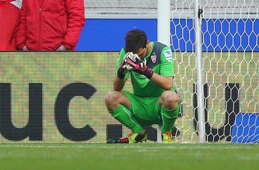 Keeper Sven Ulreich ist enttäuscht. Dabei war er einer der wenigen, die im Spiel eine starke Leistung ablieferten: Note 2. Foto: Getty