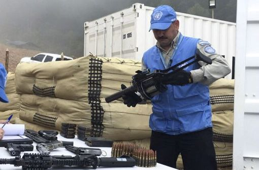 Entwaffnung der FARC-Rebellen in Kolumbien abgeschlossen