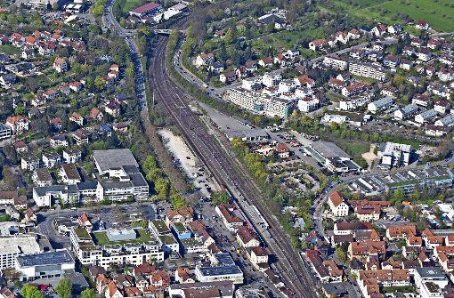 Auf dem Weg zu einer  neuen Bahnstadt