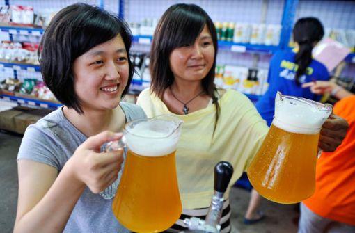 Chinesen trinken am meisten Bier aus dem Ländle
