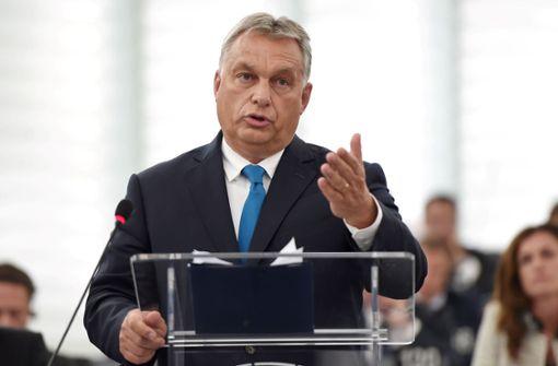EU-Parlament fordert Strafverfahren gegen Ungarn