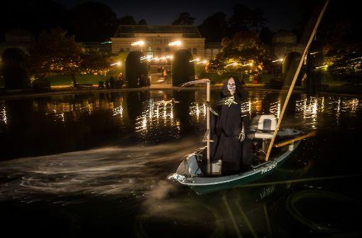 Drei Besucher beschwerten sich nach Halloween über die Deko der Wilhelma. Foto: Lichtgut/Rettig