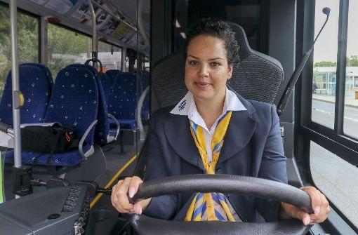 Wie Jamina Ben Haouem ihre Fahrgäste begeistert