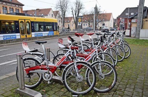 Das Bike-Sharing kommt nicht in  Tritt